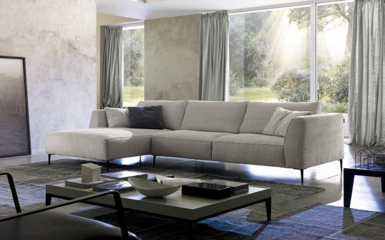 Sofas Modernos Sof 225 De Tecido Modelo Dudy